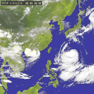 台灣自由行—7~9月間:高溫潮濕
